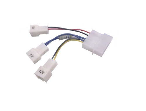 Occus 10pcs //Lot 12V 3 Pin PC Fan Power Y Cable Splitter Extension Cable Wire